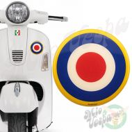 RAF yellow RING blue Target 3D Decal for all Vespa models Front or Side Mod