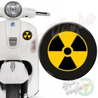RadioActive Target 3D Decal for all Vespa models Front or Side