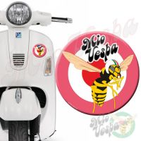 Mio Vepa Wasp Pink Red Target 3D Decal for all Vespa models Front or Side